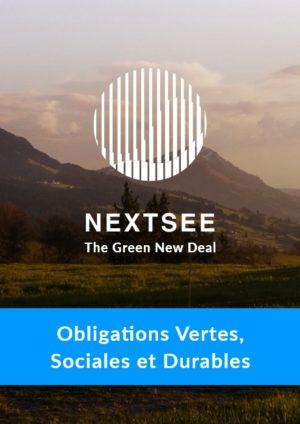 Formation − Produits et Standards : l'Exemple des Obligations Vertes, Sociales et Durables