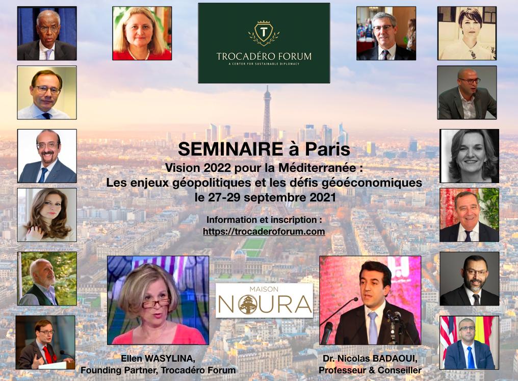 Vision Méditerranée 2022 : Les enjeux géopolitiques et défis géoéconomiques